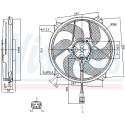 Ventilador, refrigeração do motor